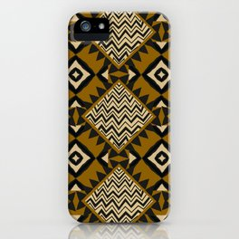 Checkered Tribal iPhone Case