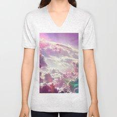 Clouds #galaxy Unisex V-Neck