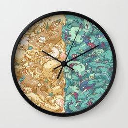 Saturnalia Donnybrook Wall Clock