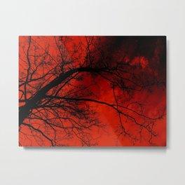 BloodSky. Metal Print