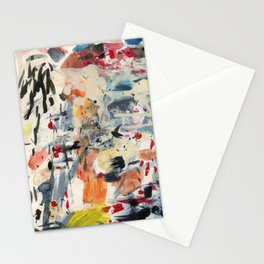 good luck, shallow sky Stationery Cards