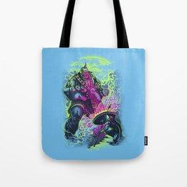 Magnysseus vs the Cyclops: X-Odyssey Tote Bag