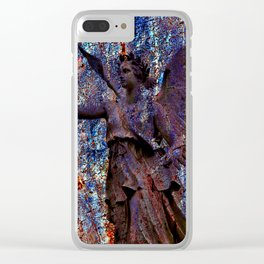 Pending Victory Goddess Victoria Clear iPhone Case