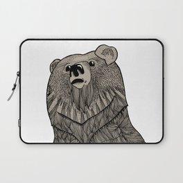 Beary Hairy Laptop Sleeve