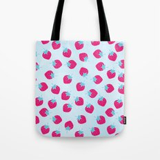 Strawberry spring Tote Bag