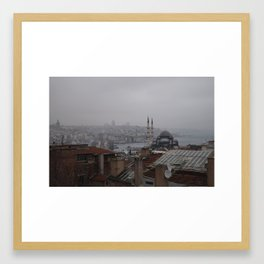 View of Istanbul Framed Art Print
