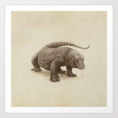 Komodo Art Print