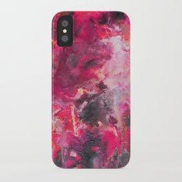 Pour Ultraviolet Pink iPhone Case