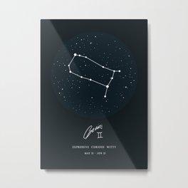 Gemini Metal Print