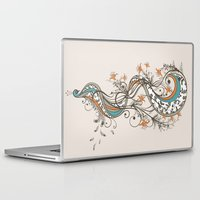 peacock Laptop & iPad Skins featuring Peacock by Tracie Andrews