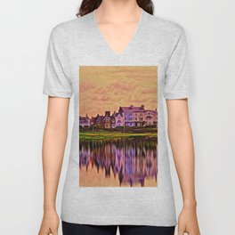 Imagine (Digital Art) Unisex V-Neck