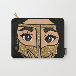 Glitter Burga Carry-All Pouch
