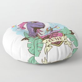 Jurassic Cutie Floor Pillow