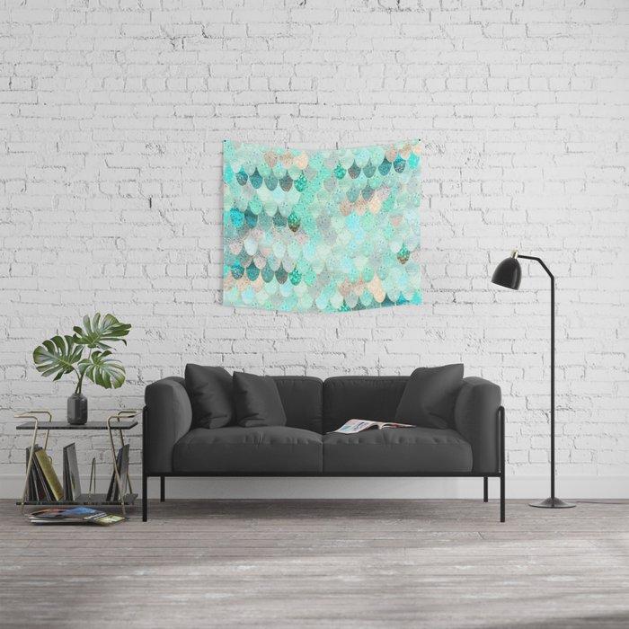 SUMMER MERMAID Wall Tapestry