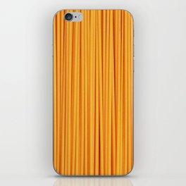 Spaghetti, pasta texture iPhone Skin