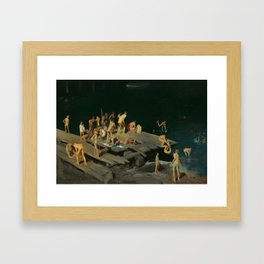 George Bellows - Forty-two Kids, 1907 Framed Art Print