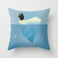 FISHER OF STARS Throw Pillow