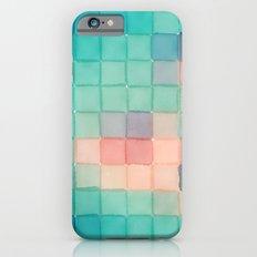 Polaroid Pixels VI (Crabapple) iPhone 6 Slim Case