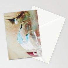 To Breathe Underwater Stationery Cards