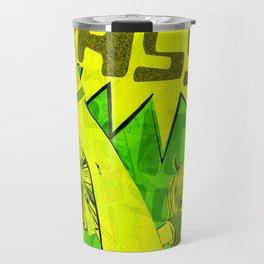 SUPER HIGH KICK!! Travel Mug