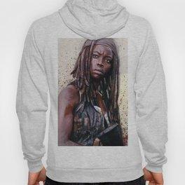 Michonne On The Walls Of Alexandria - The Walking Dead Hoody