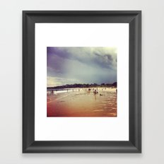 Singing Beach, Day 5 Framed Art Print