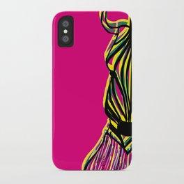 Seeing Zebra iPhone Case