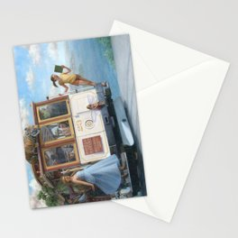 The Trolley Ride Stationery Cards