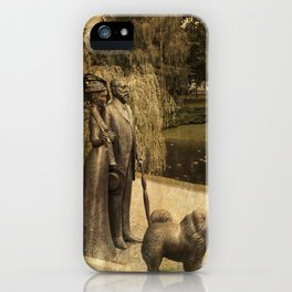 Sunday afternoon in the park Riga Latvia  iPhone Case