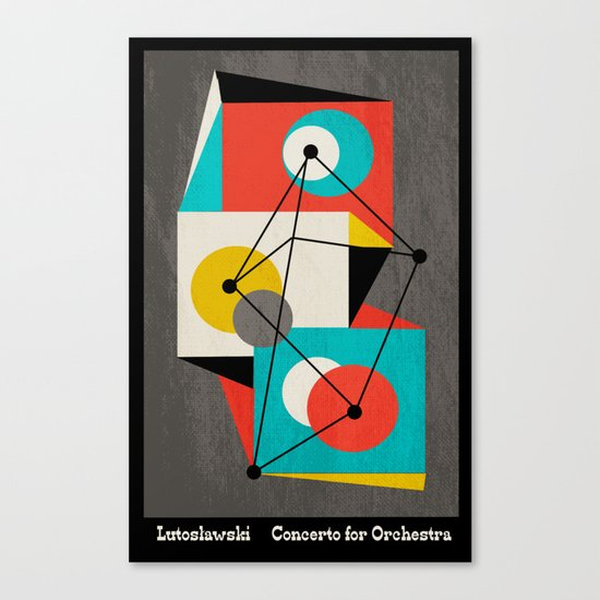 Lutoslawski Concerto for Orchestra Canvas Print