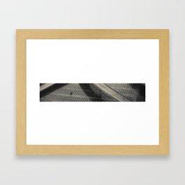 Its Quieter Framed Art Print