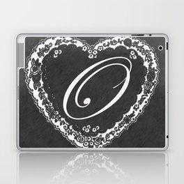 O Vintage Valentine Chalkboard Laptop & iPad Skin