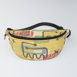 Mid Century Modern Abstract Pattern 938 Fanny Pack