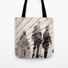 Rainy Day on the Promenade Tote Bag