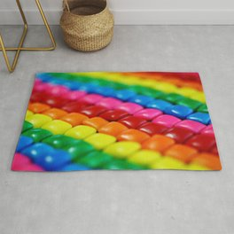 Rainbow Candy: Chicklets Rug