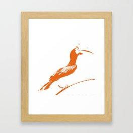 Oriental Pied Hornbill [Umber] Framed Art Print