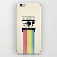 polaroid iPhone & iPod Skins featuring polaroid. by Pink Berry Patterns