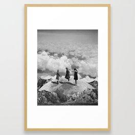 Jumping Rope Framed Art Print