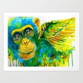 Fly My Pretty Art Print