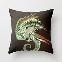 fig Throw Pillows featuring Fig. 36 by Andre Villanueva