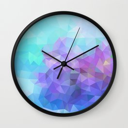 Blue and Violet 040914 Wall Clock