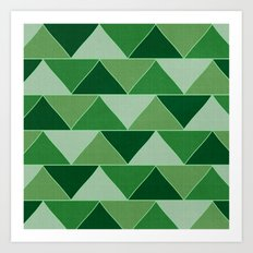 The Emerald City Art Print