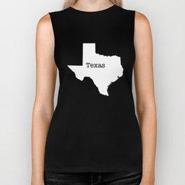 Texas State border Biker Tank