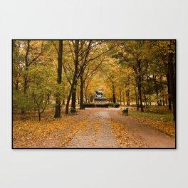 Tiergarten Canvas Print