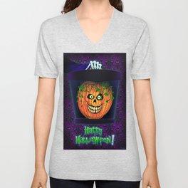 Hatty Halloween! Unisex V-Neck