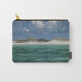 Boardwalk At Shell Island  Carry-All Pouch