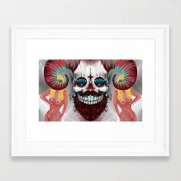 The Beast between us Framed Art Print