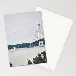Sailing Mackinaw Stationery Cards