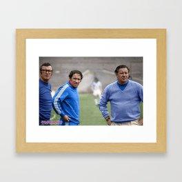 Rangers Management Team in Barcelona 72 Framed Art Print