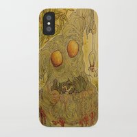 pasta iPhone & iPod Cases featuring Killer Pasta by Marcelo O. Maffei